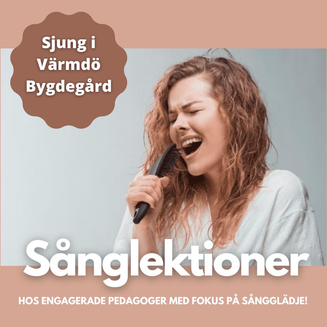 Sånglektioner i Stockholm